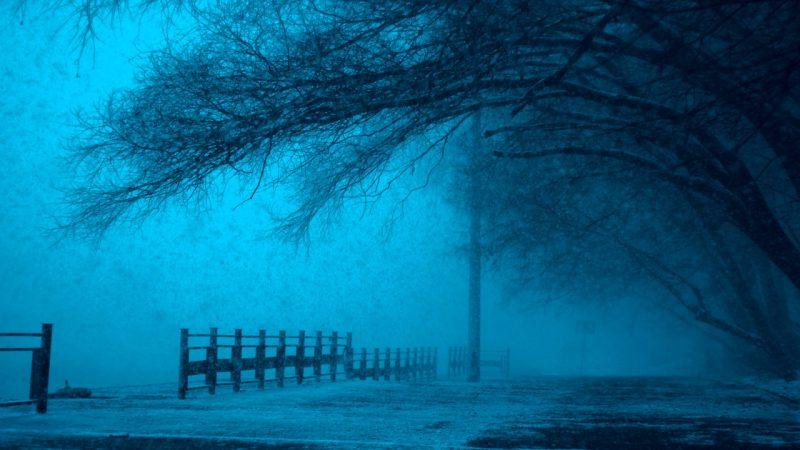 Eerie atmosphere on south atlanta